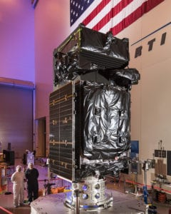 The next satellite in SBIRS the constellation, GEO Flight 3, will launch on Jan. 19 from Cape Canaveral, Florida. Photo: Lockheed Martin