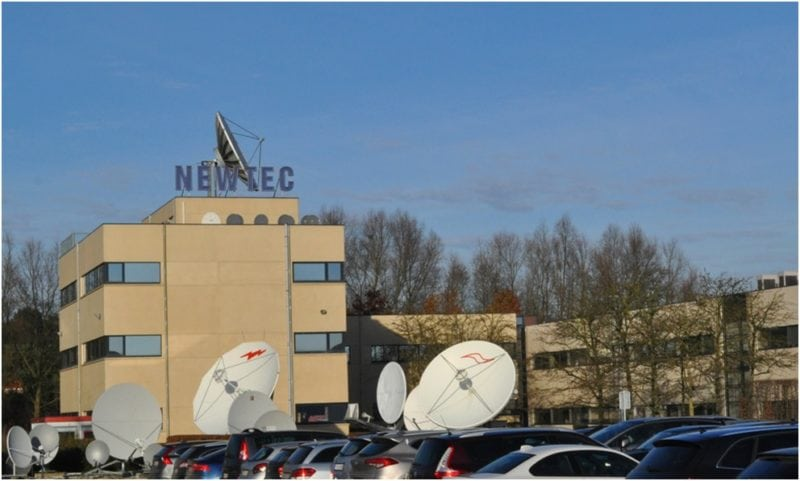 Newtec HQ in Sint-Niklaas, Belgium
