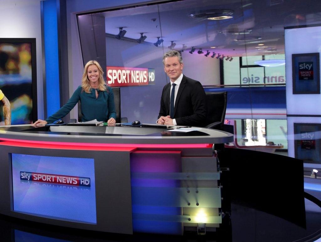 Sky Sport News HD studio