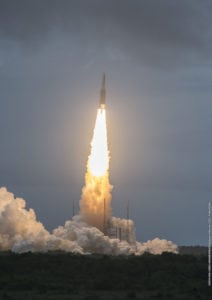 Arianespace's Ariane 5 launch with Star One D1 and JCSAT 15 marked the heavy-lift vehicle's 76th consecutive success.