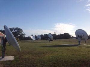 Australia's Bureau of Meteorology ground station. Photo: Av-Comm