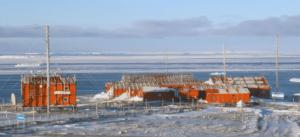 Base Marambio in Antarctica. Photo: Base Marambio