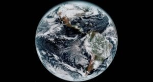 The first image of Earth released from NOAA's GOES-16 weather satellite was taken by the Harris Corporation-built Advanced Baseline Imager (ABI). Photo: Harris