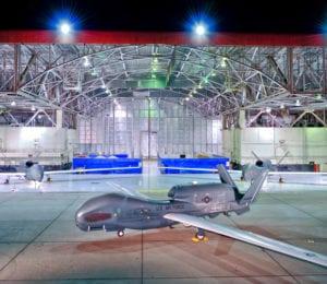 Northrop Grumman Global Hawk UAS. Photo: Northrop Grumman