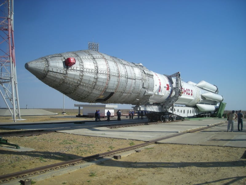 Proton-M, carrying the Inmarsat-4F3 spacecraft