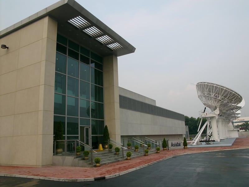 AsiaSat's Tai Po Earth Station in Hong Kong. Photo: Leighton Asia