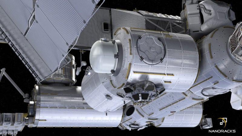 NanoRacks airlock illustration Boeing