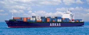 Arkas Line's M/V Pierre A vessel