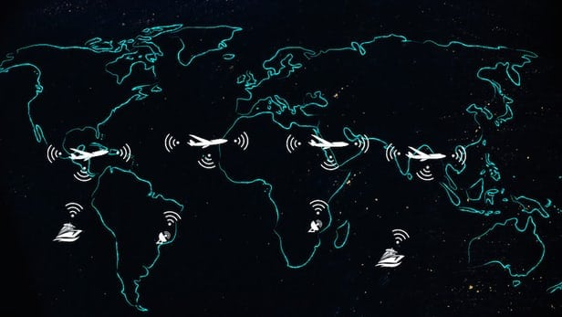 Airborne Wireless Network concept of operations.