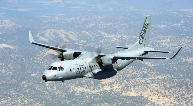 The C295 aircraft.