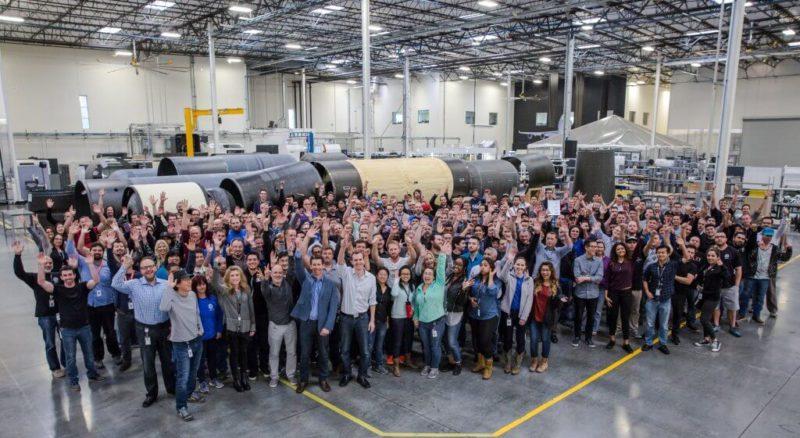 LauncherOne group photo.