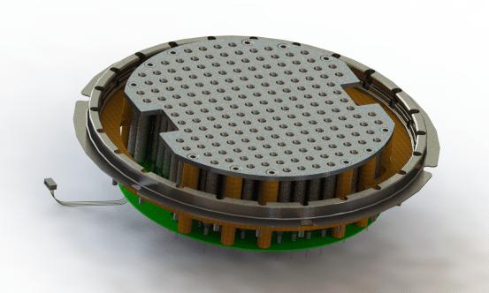 One possible MAPS configuration. Photo: PacSci EMC.