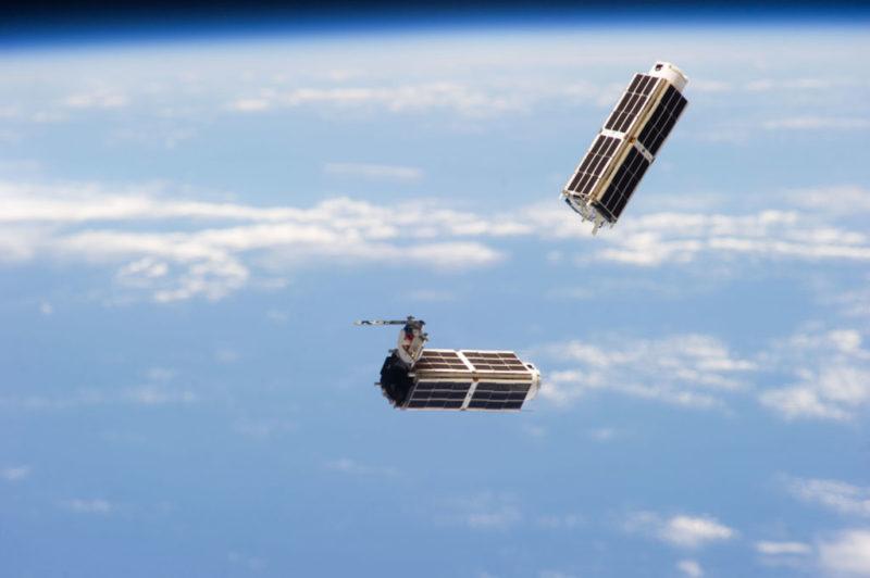 SmallSats deployed from ISS NASA