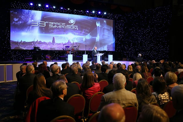 33rd Space Symposium Opening Ceremony. Space Foundation