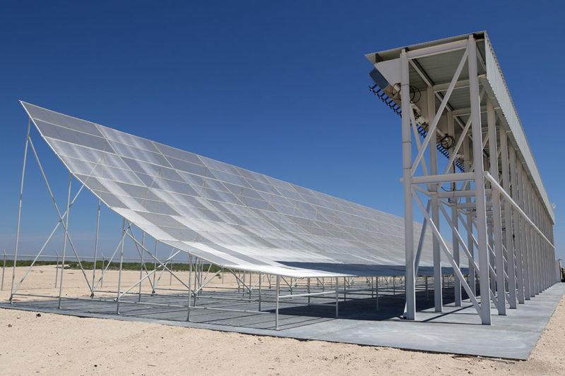 The Midland Space Radar facility in Texas.