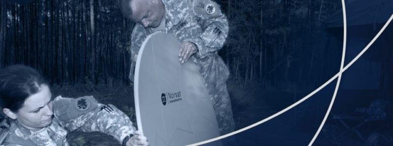 A Norsat satellite. Photo: Norsat.