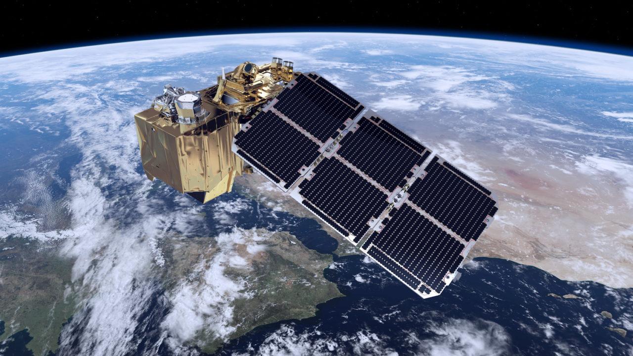 Sentinel 2 satellite.