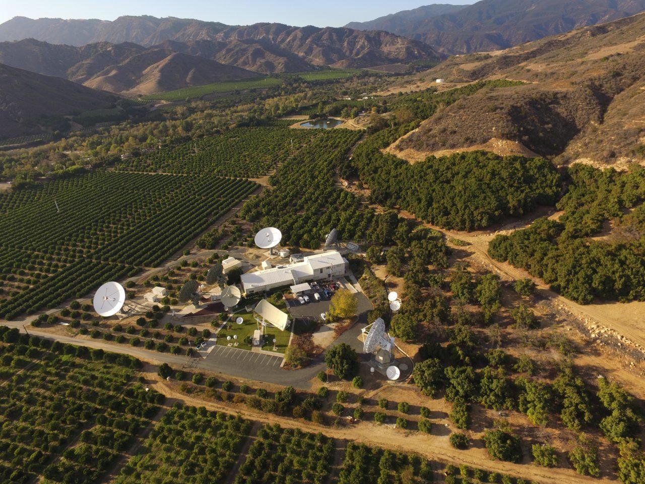 Comsat teleport in Santa Paula, California. Photo: Comsat.