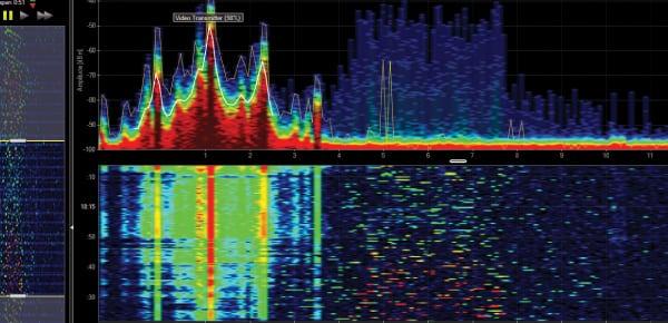 Hawkeye 360 spectrum mapping. Photo: Hawkeye 360.