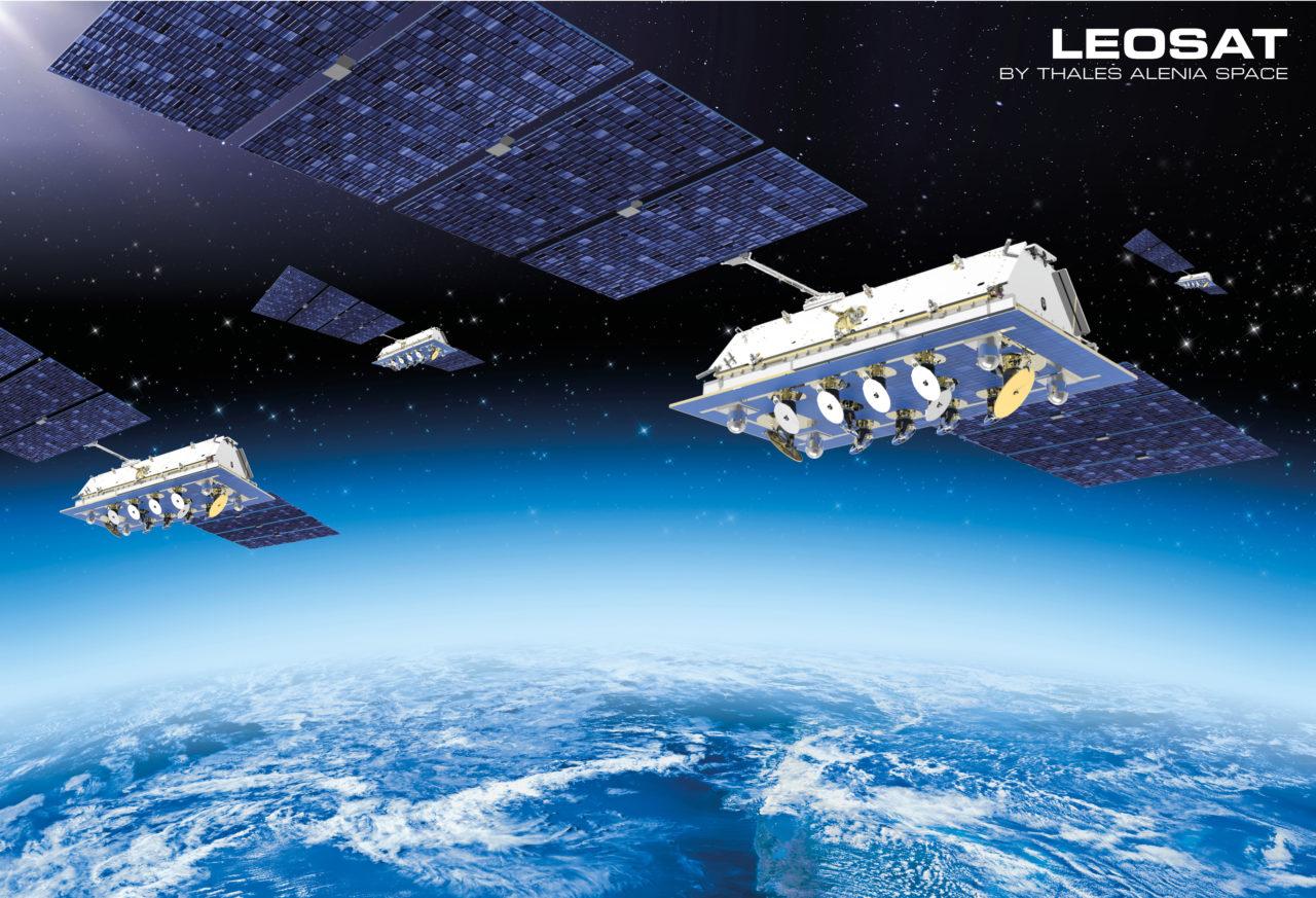 Rendition of LeoSat constellation. Photo: LeoSat.