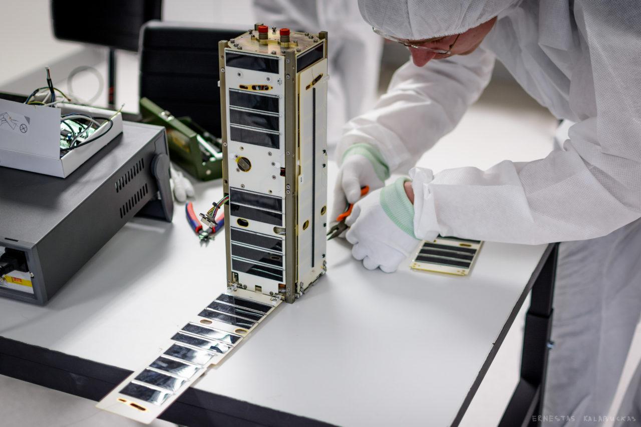 LituanicaSat 2. Photo: NanoAvionics.