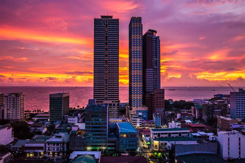 Skyscrapers in Manila, the Philippines. Photo: