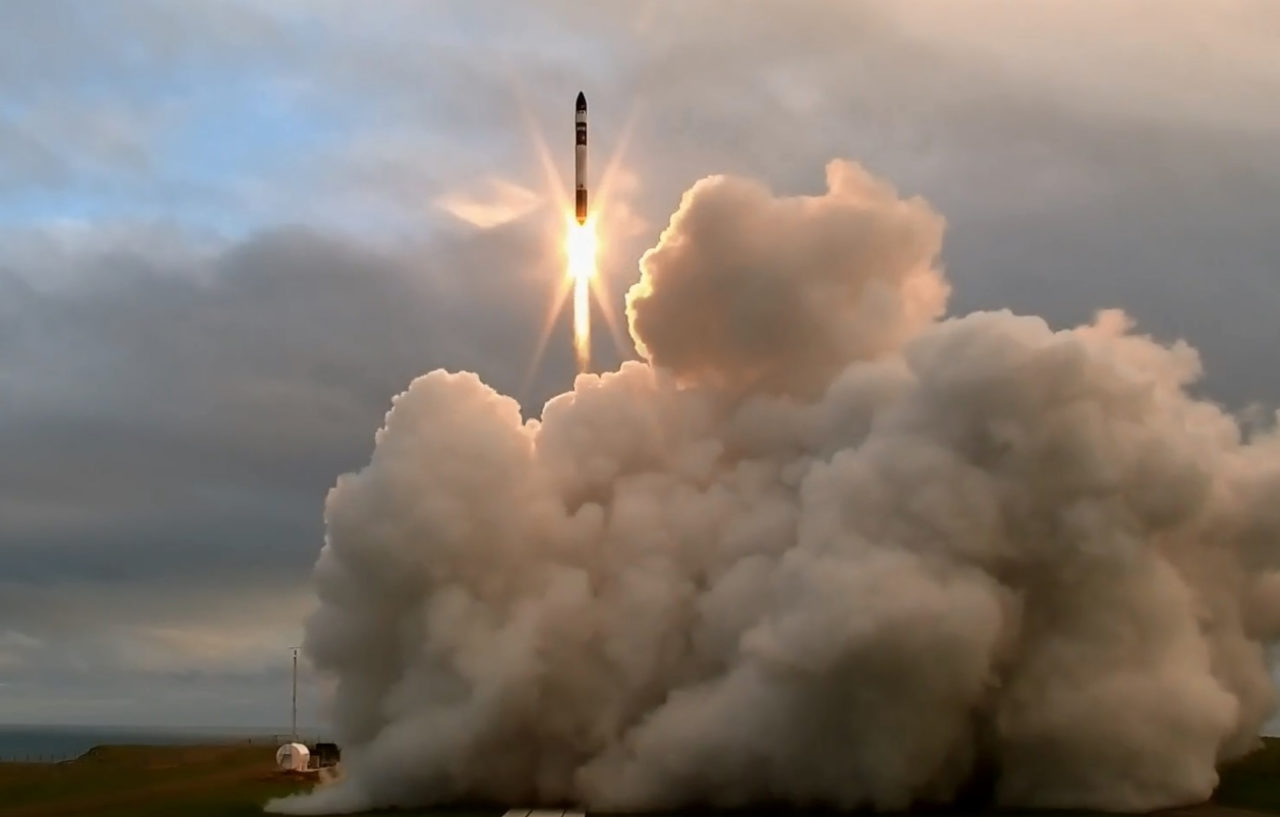The Electron lifts off from Mahia peninsula in May 2017. Photo: Rocket Lab.
