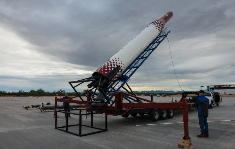The Vector-R launch vehicle. Photo: Vector.