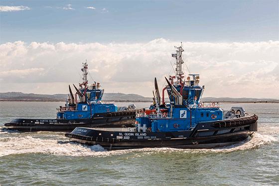 Smit Lamnalco tugboats. Photo: Smit Lamnalco.