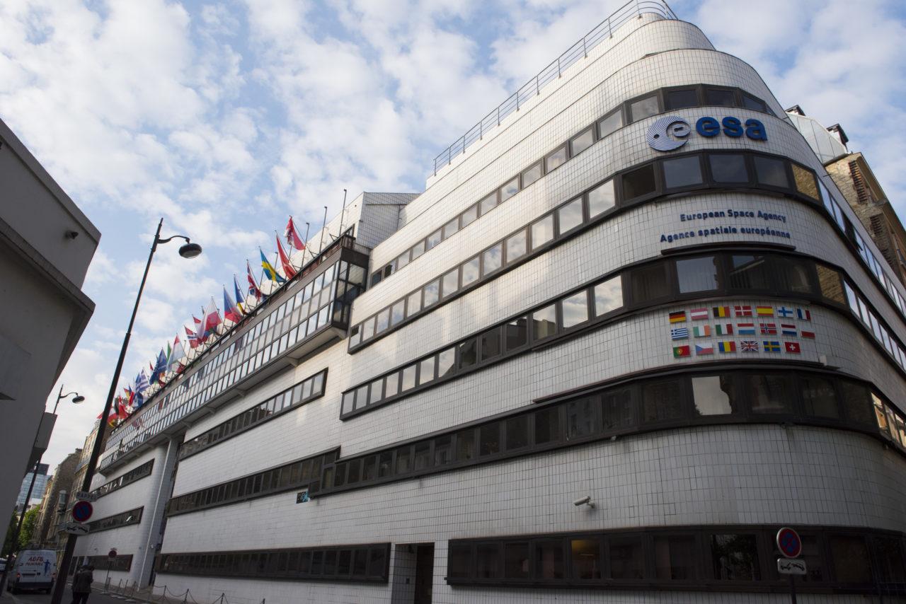 ESA headquarters in Paris, France. Photo: ESA.
