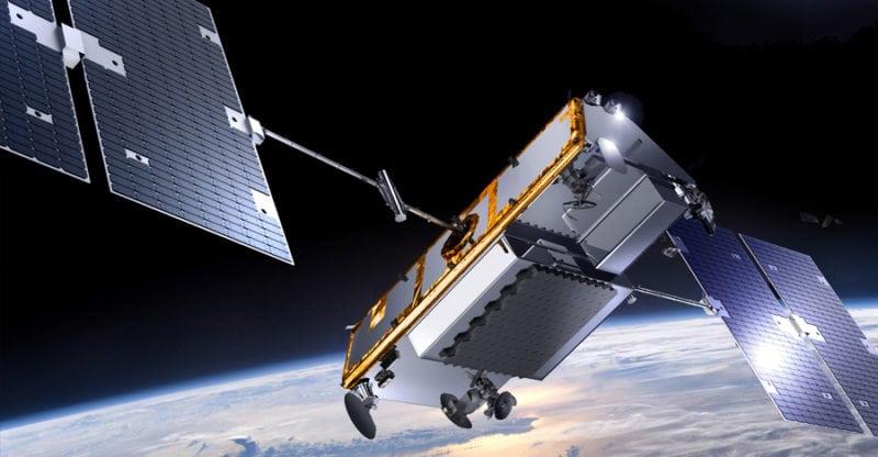 An Iridium Next satellite. Photo: Iridium.