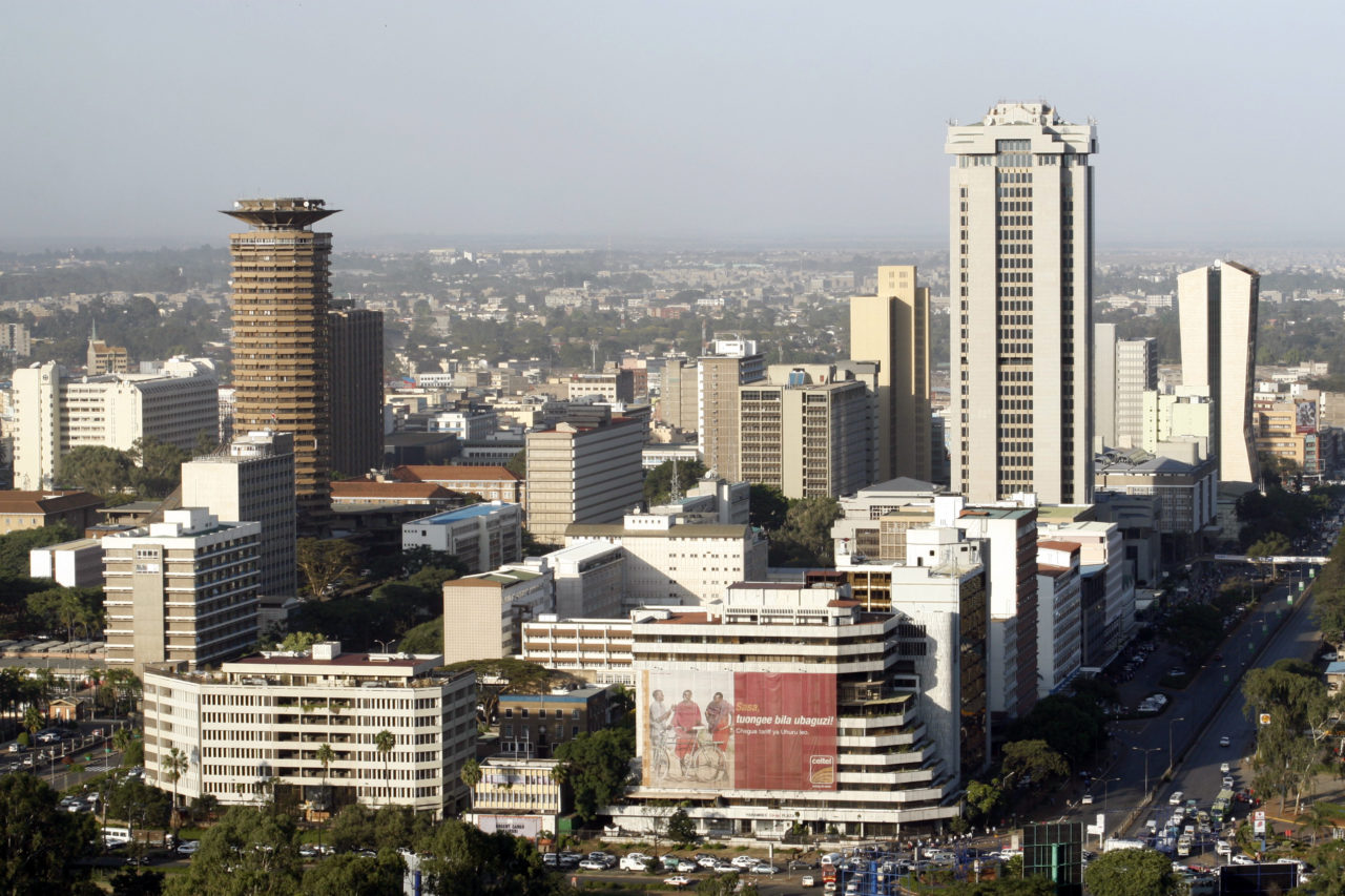 Nairobi, Kenya. Photo: Wikimedia.