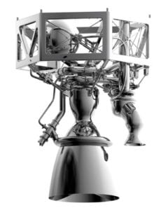 The Prometheus engine. Photo: ESA.