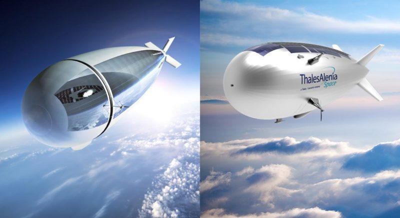 Stratobus stratospheric airship. Photo: Thales.