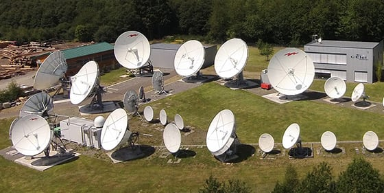 CETel teleport in Ruppichteroth, Germany. Photo: CETel.