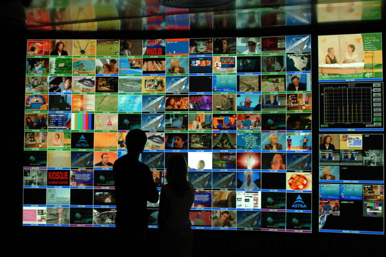 SES' Digital Network Operations (DINO). Photo: SES.