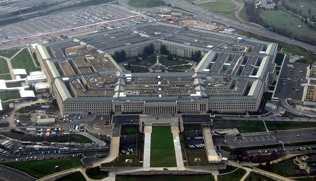 The Pentagon, headquarters for the Department of Defense. Photo: Wikimedia.