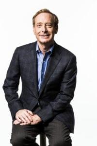 Brad Smith, Microsoft president. Photo: Microsoft.