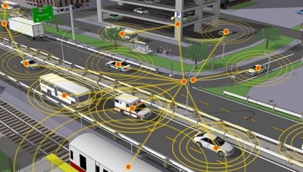 Rendition of connected transportation. Photo: U.S. Department of Transportation.