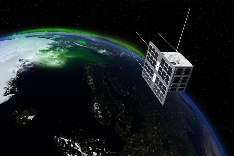 Rendition of Norsat-1. Photo: ESA.