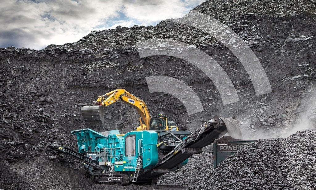 Heavy equipment telematics. Photo: Orbcomm.
