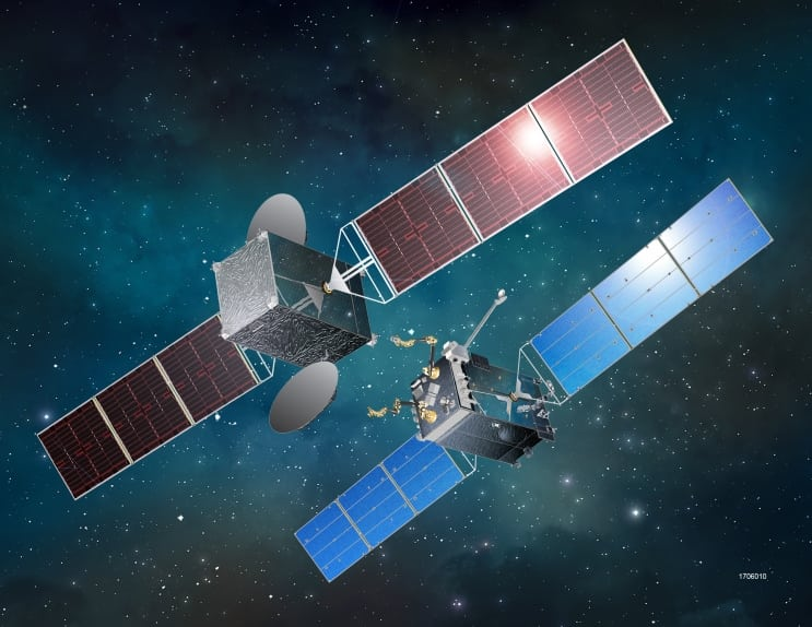 Rendition of satellite refueling. Photo: SSL.