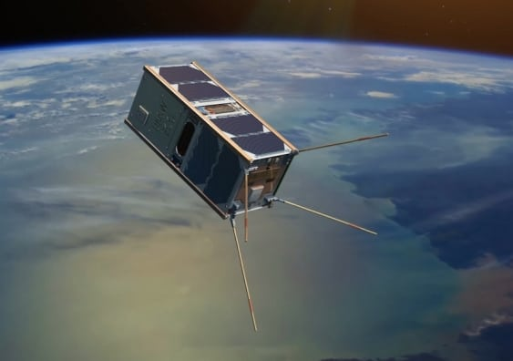 Rendition of the UNSW-Ec0 satellite, Australia's first in 15 years. Photo: University of New South Wales.