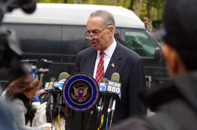 "U.S. Senate Minority Leader Charles E. ""Chuck"" Schumer. Photo: Flickr, Mike Steele."