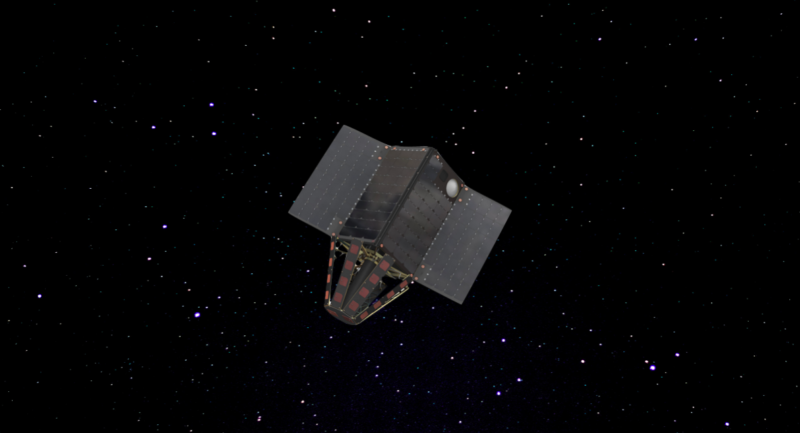 Rendition of Helios Wire's S-band satellite design. Photo: Helios Wire.