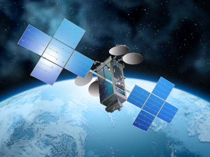 Rendition of EchoStar24/Jupiter 3 satellite. Photo: SSL.