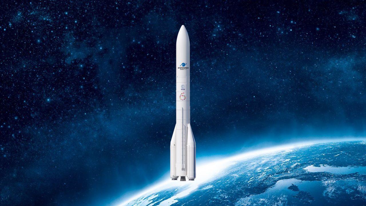 Rendition of Ariane 6 launch vehicle. Photo: Arianespace.