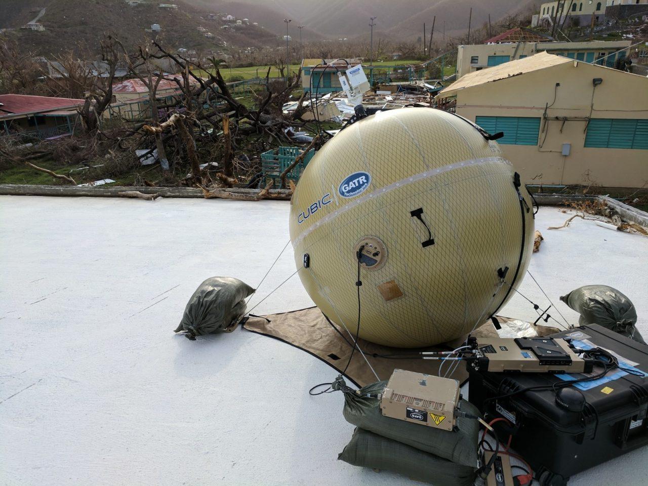 GATR antennas currently deployed in St. John. Photo: Cubic.
