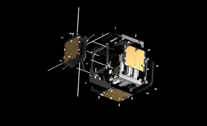Rendition of an EnduroSat CubeSat platform. Photo: EnduroSat.