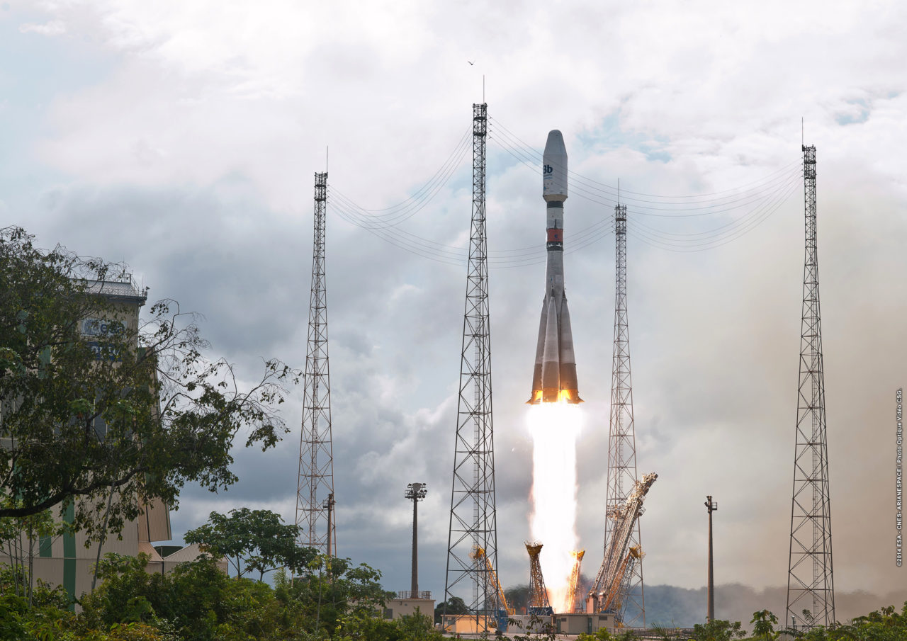 Arianespace performs the second launch of four O3b satellites in July 2014. Photo: Arianespace.